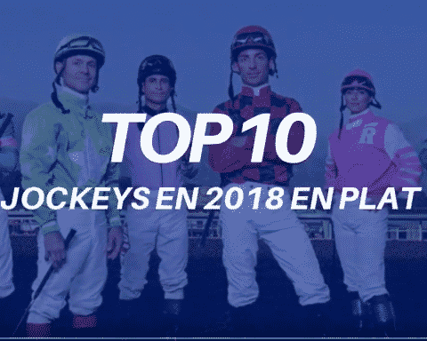 top 10 des jockeys en 2018 en plat