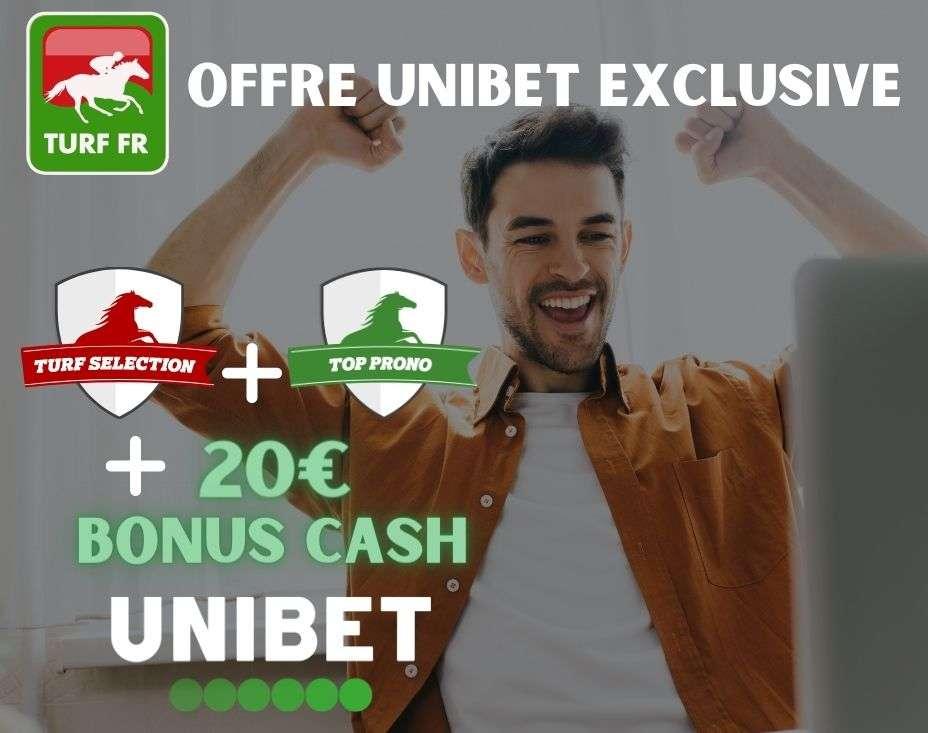 Offre partenariat unique entre Unibet et TURF FR