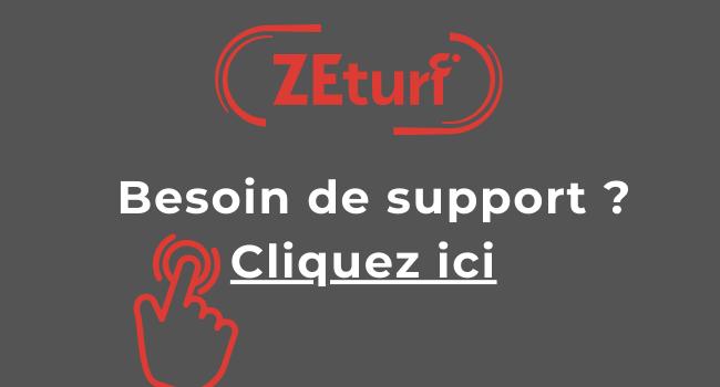 support zeturf pour Bonus Zeturf avec TURF FR